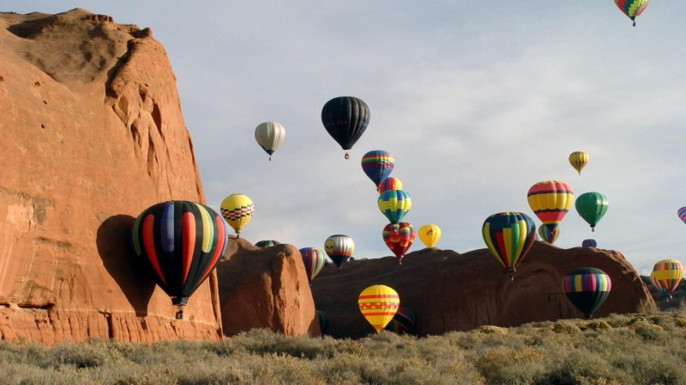 Red-Rock Balloon Rally – Courtesy of State of New Mexico
