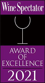 Wine Spectator's Award for Excellence 2021