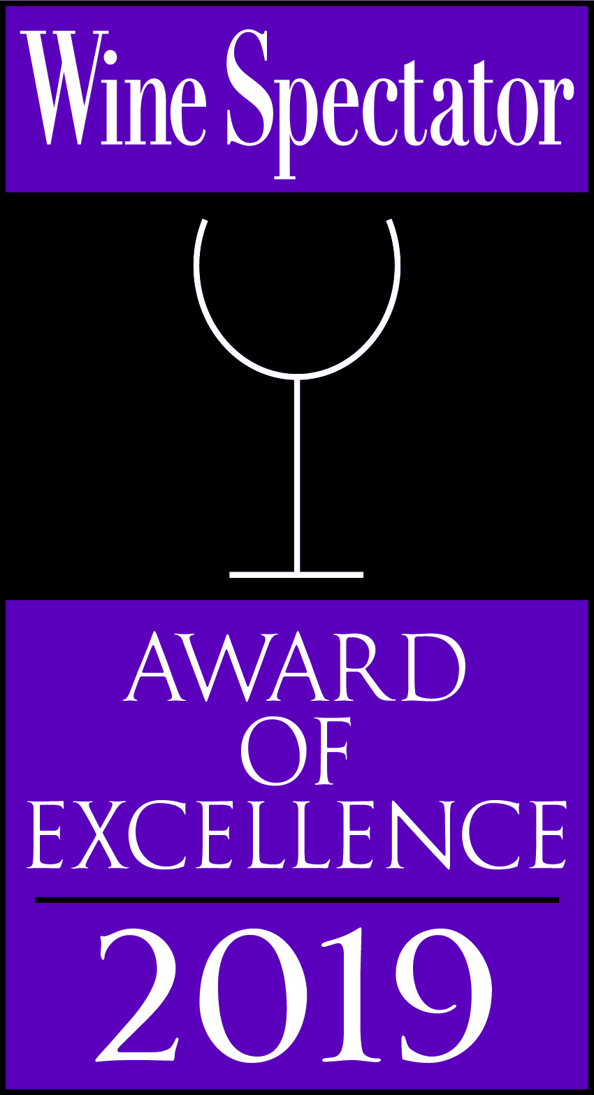 Wine Spectator's Award of Excellence 2019