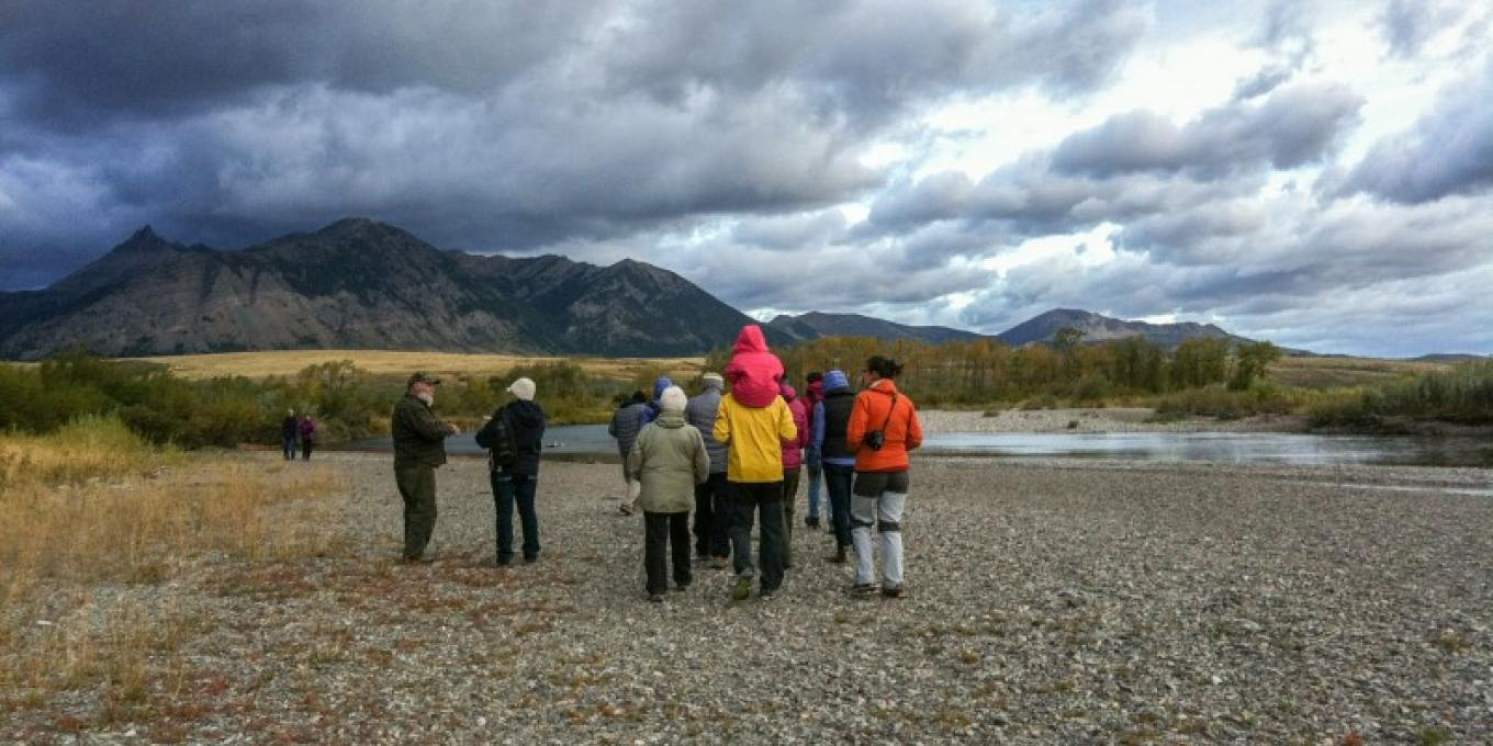 Searching for elk traces with Dale Paton – Michaela Enzmann
