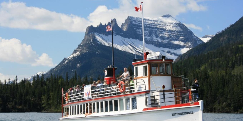 The Historic M.V. International – Waterton Shoreline Cruise Co.