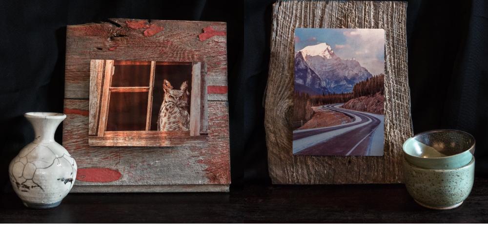 Gathering Dust Photography - Handmade Metal & Barn Wood Art