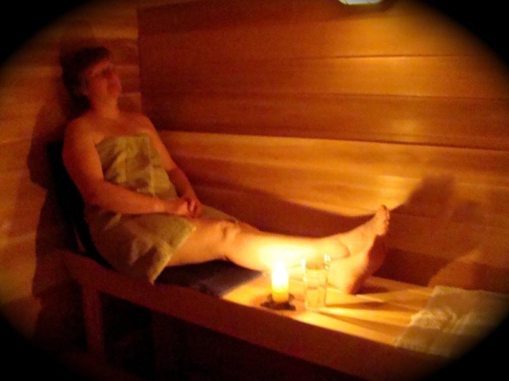 Our Cedar wet sauna – Janet Casey