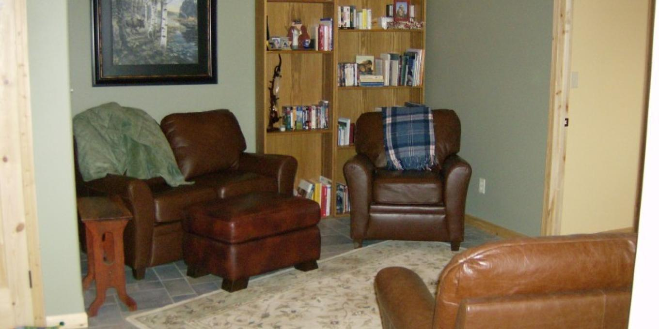 Common area for our Guests – Janet Casey