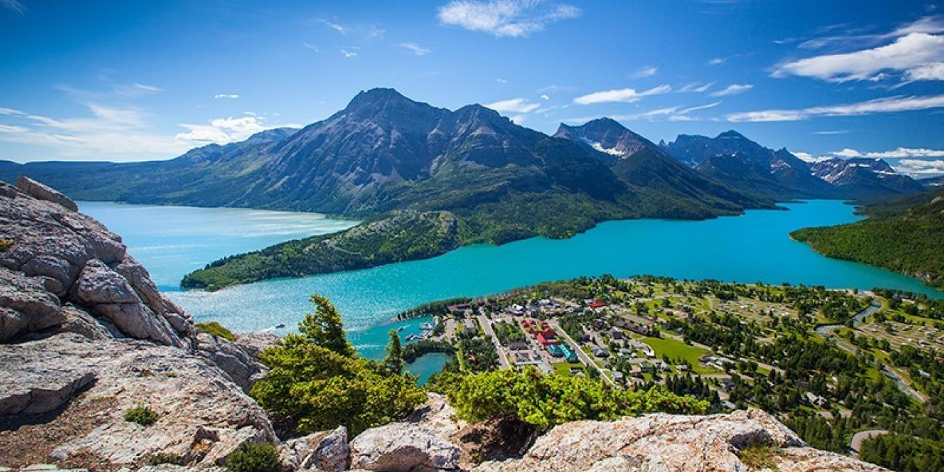 Waterton Glacier Suites is located in the center of the village and open year round!