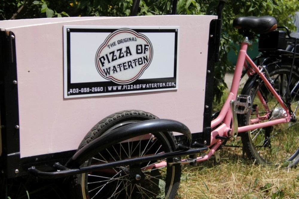 Did you know we deliver? Call 403.859.2660 and have your pizza brought right to your hotel room, campsite or cabin!