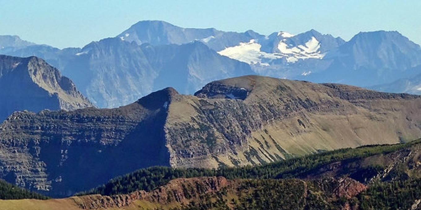 View of Sperry Glacier from from Mt Carthew summit on the Carthew - Alderson Trail – AlbertaScrambler