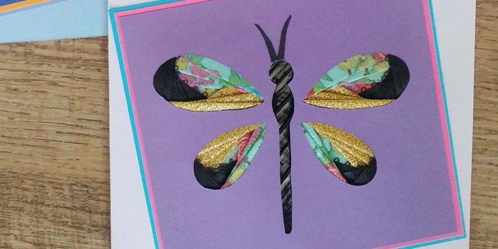 Marlene Skoog - Iris Folding Greeting Card