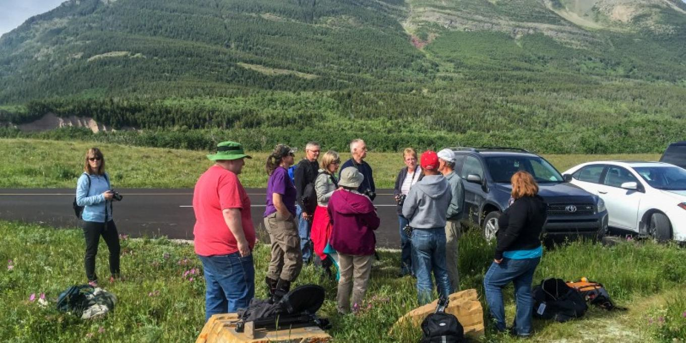 A group getting ready for a fun and educational experience – James van Leeuwen