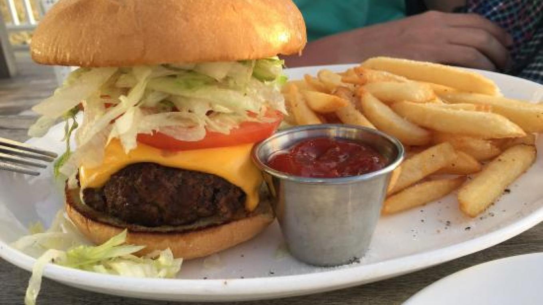 A tasty cheeseburger with fries – tripadvisor