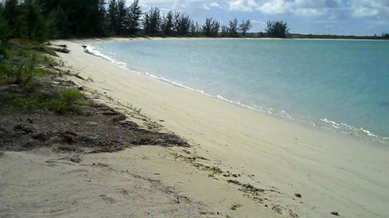 The beach at Crooked Acklins Lodge. – Bahamas Ministry of Tourism