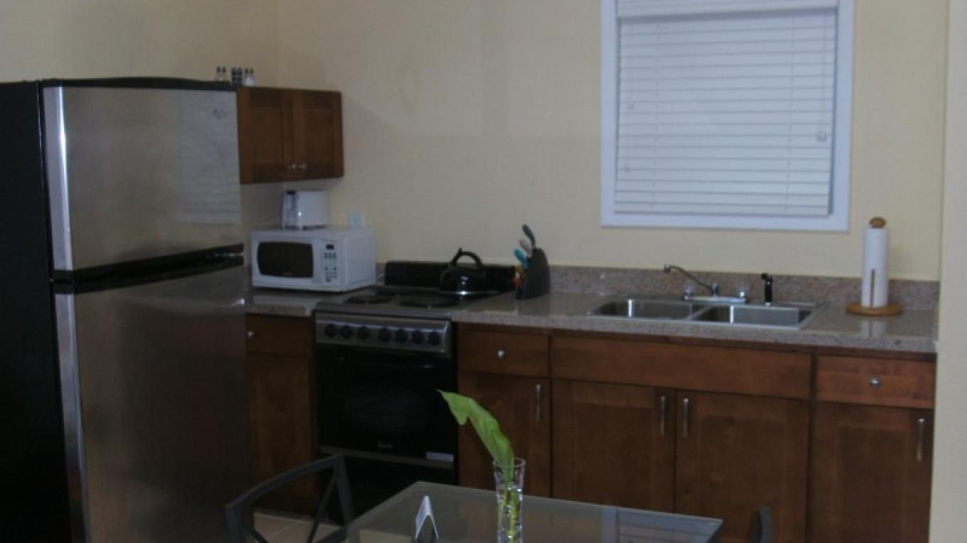 Kitchen - Sunflower Suite (1 bedroom/1 bath) – Arlene Clarke