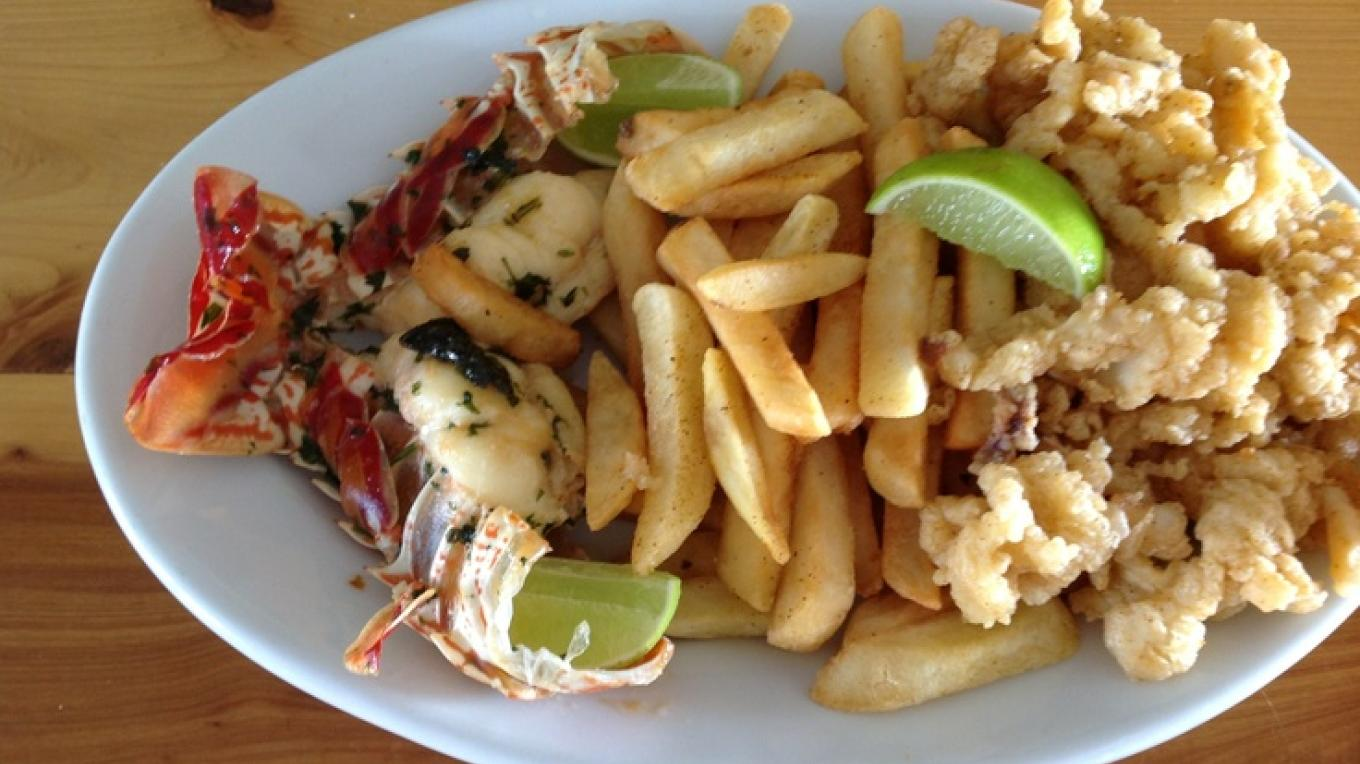 Seafood with fries – pinterest