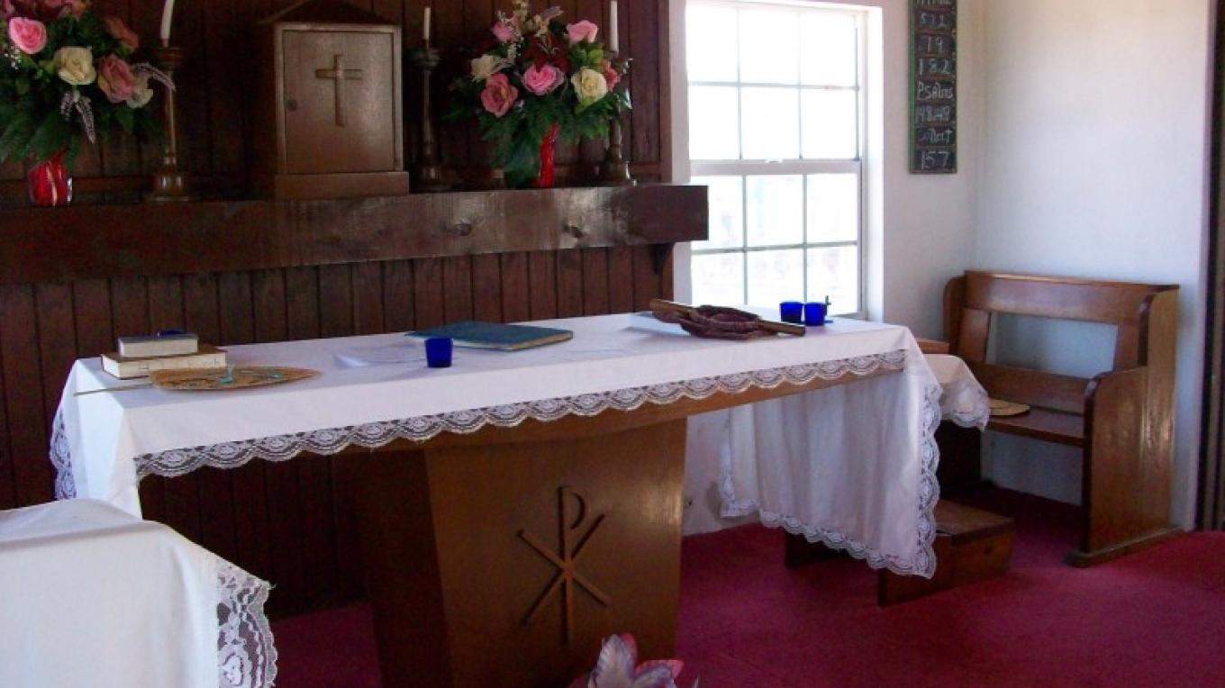 The Altar of Holy Innocence Anglican Church – Charlene Lockhart-Bain, Administrator's Office, Ragged Island