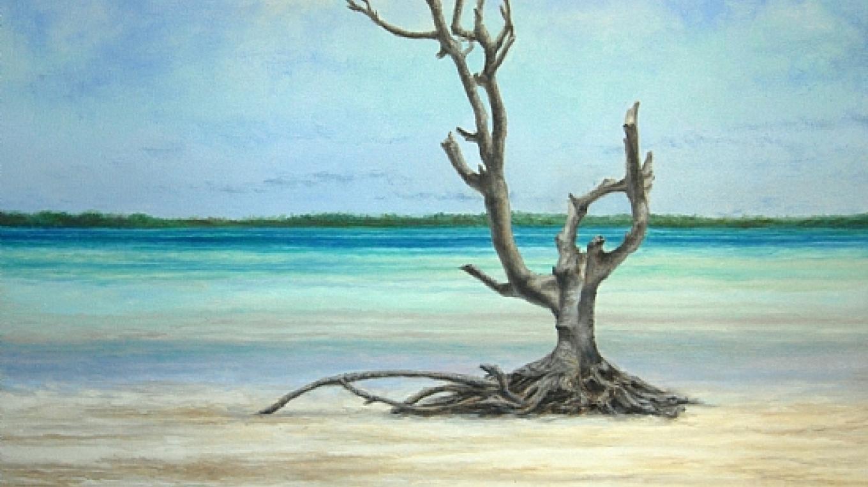 Painting by Sheldon Saint, Grand Bahama Island