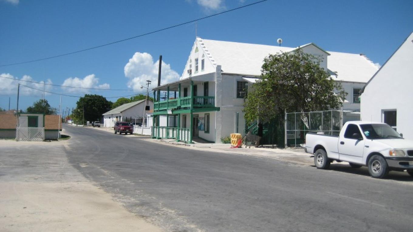 The Inagua General Store in Matthew Town, Inagua – George Harris, Coast FM Radio