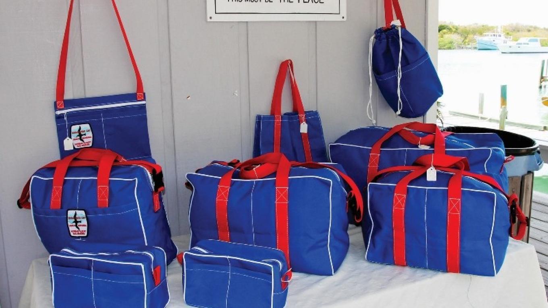 Bags sold at Albury's Sail Shop. – Rhonda