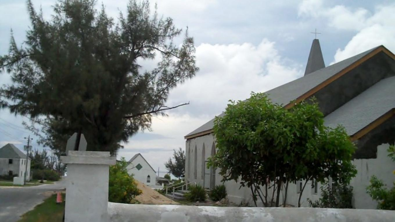 St. Philip's Anglican Church before the renovations. – Bahamas Ministry of Tourism