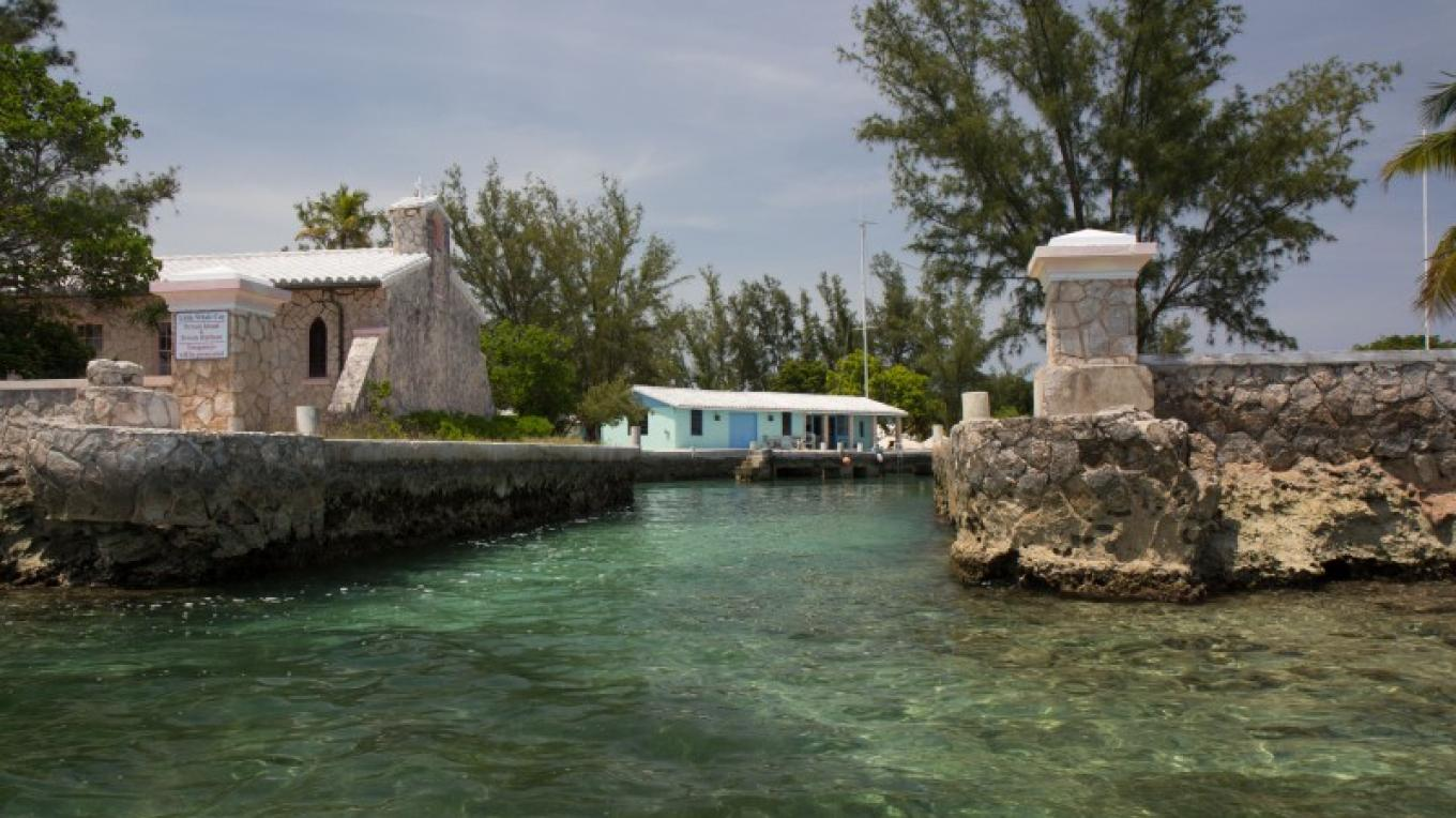 Boat Entrance to Little Whale Cay – Bahamas Ministry of Tourism