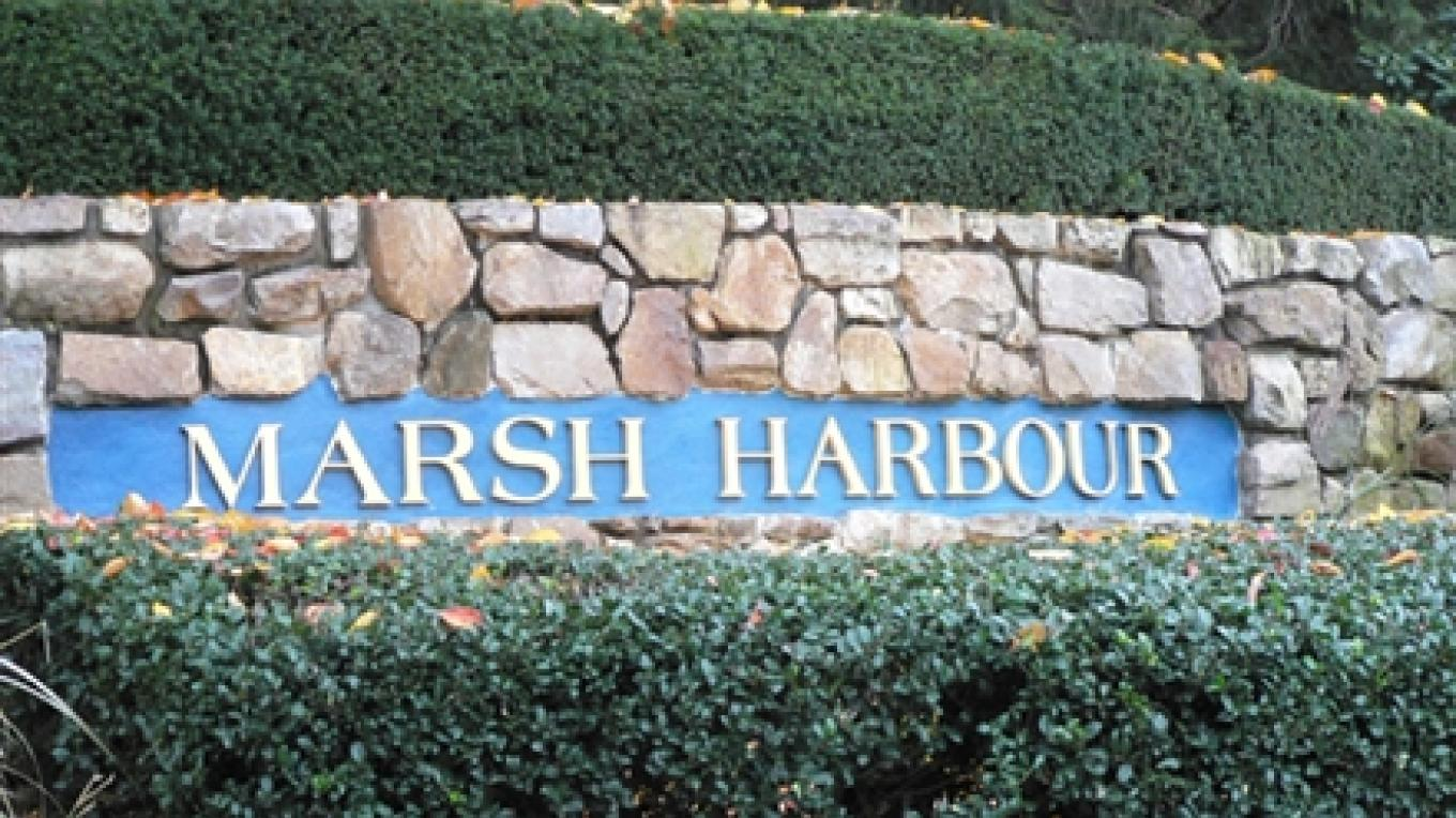 Welcome sign entering Marsh Harbour – Bahamas Ministry of Tourism