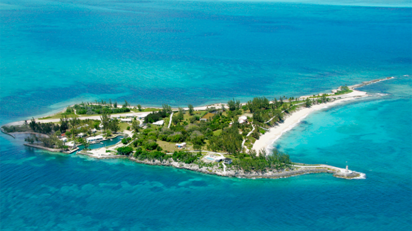 Aerial View of Little Whale Cay – Little Whale Cay Resort Website
