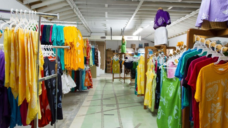 Inside Batik store – Bahamas Ministry of Tourism