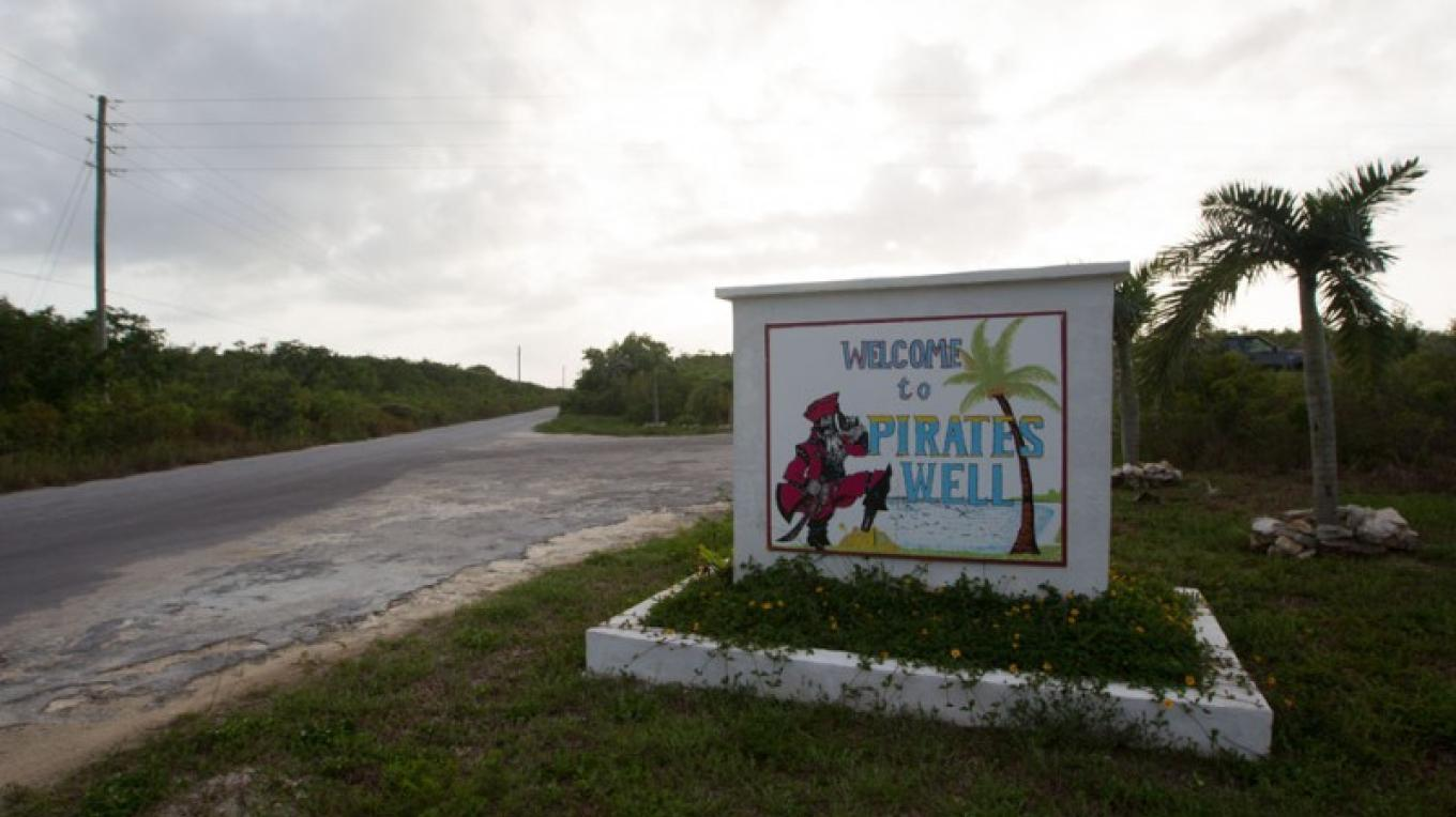 Entrance to Pirate's Well settlement, Mayaguana, The Bahamas – Bahamas Ministry of Tourism