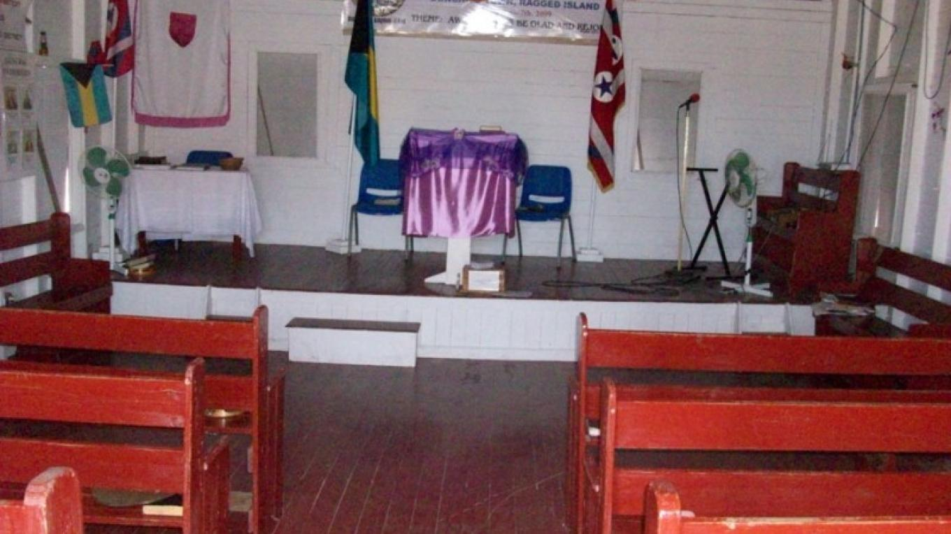 Church of God of Prophecy - Inside View – Administrator's Office-Ragged Island