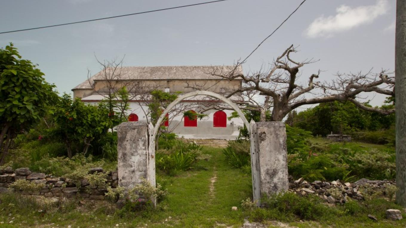 Entrance to St. David & St. Augustine's Anglican Church in Albert Town on Long Cay. – Bahamas Ministry of Tourism