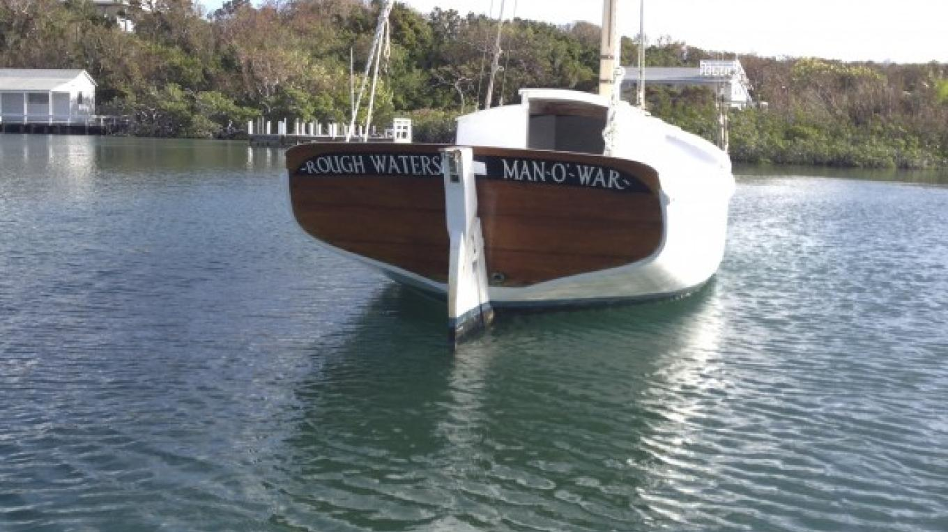 S/V Rough Waters, Owner, Matthew Janes, Moored in Eastern Harbour, MOW – dw