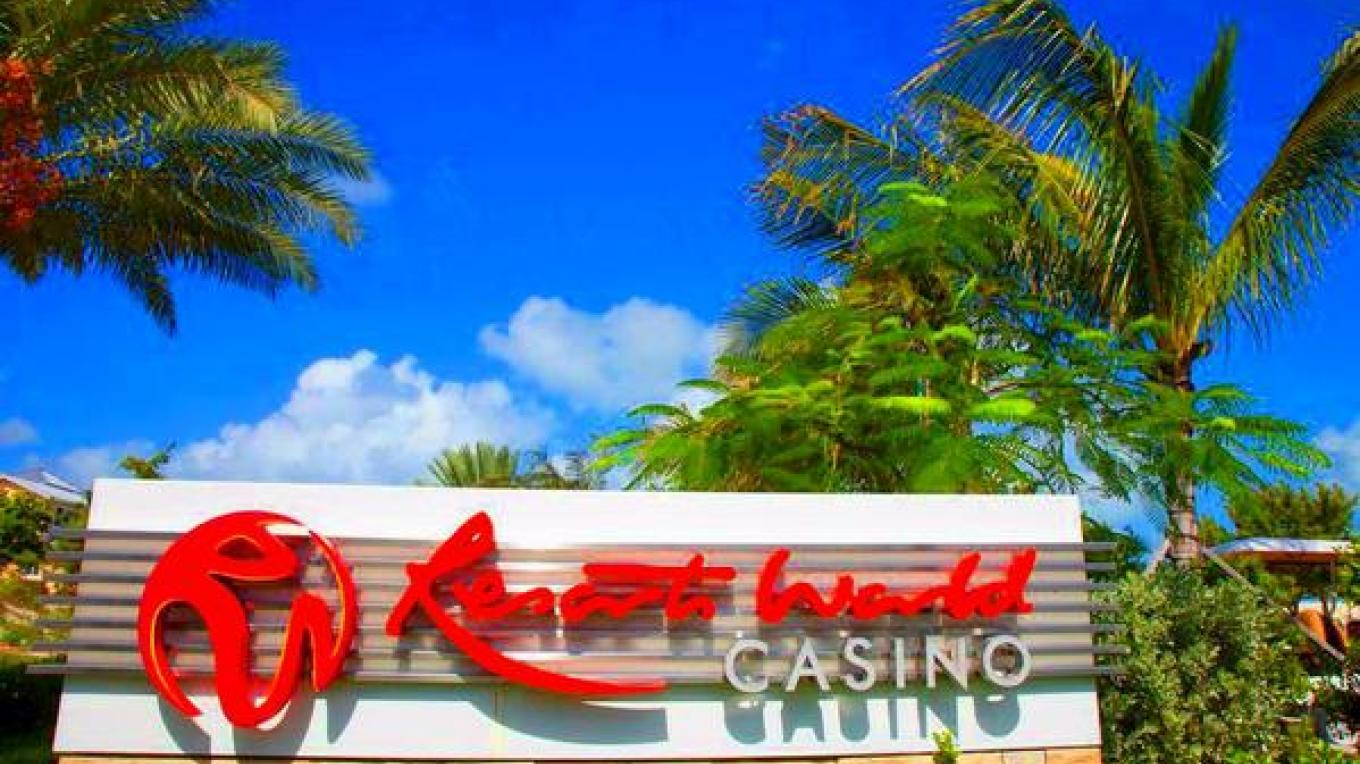 Resorts World Casino sign – Resort World Bimini Casino