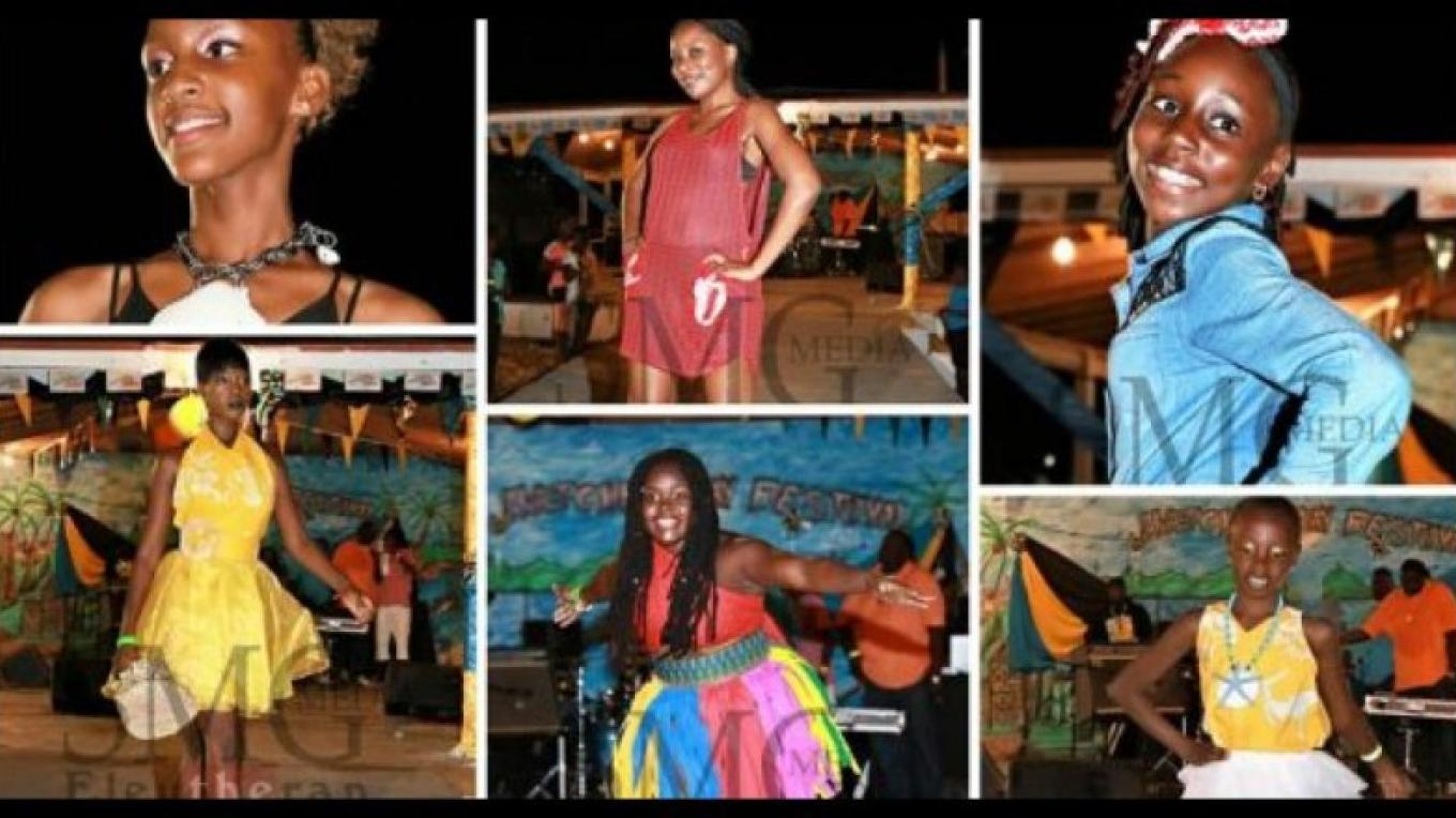 Young models entertaining the crowd at Bay Fest – Eleuthera news