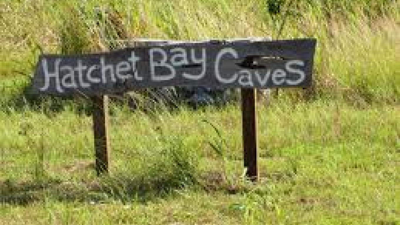 Hatchet Bay Caves sign – mybahamasbeachhouse