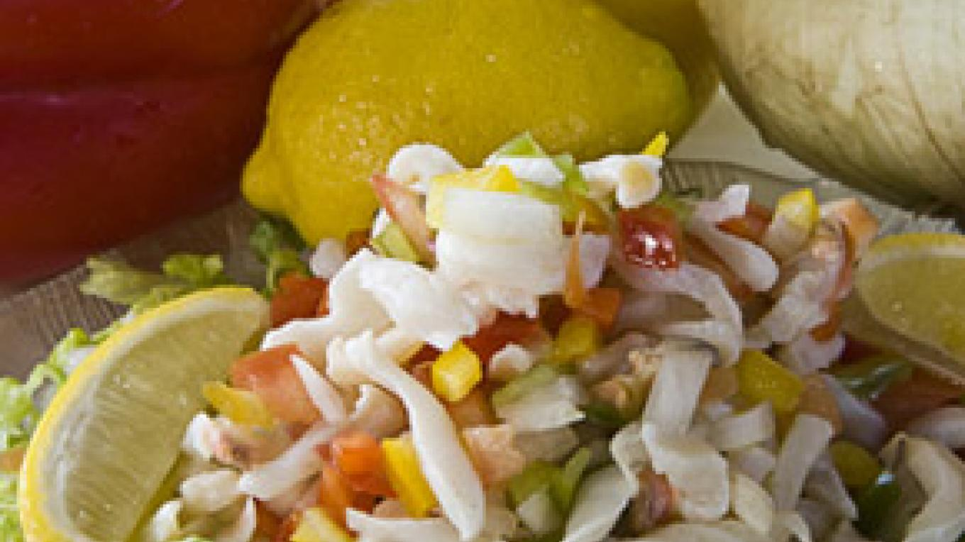Conch salad – Bimini Big Game