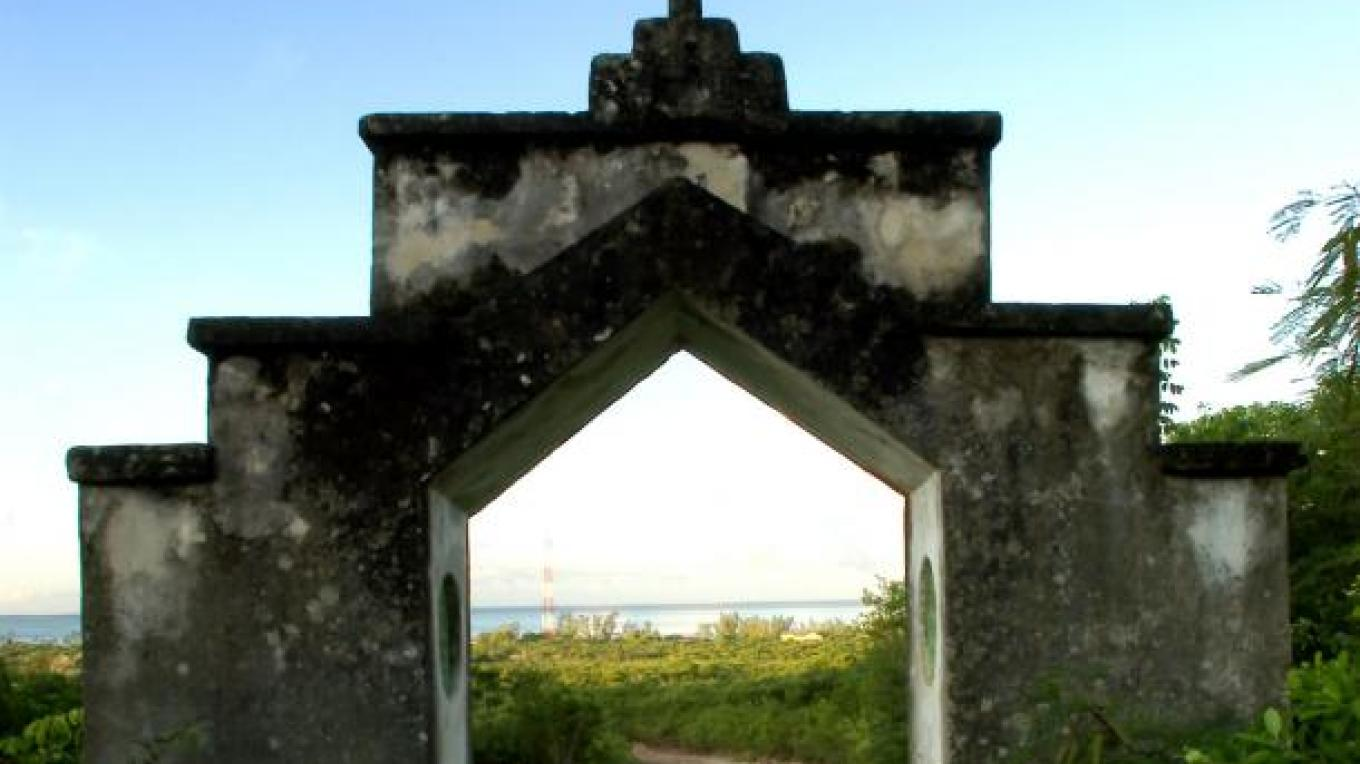 Entrance to The Hermitage on Mount Alvernia. – Bahamas Ministry of Tourism