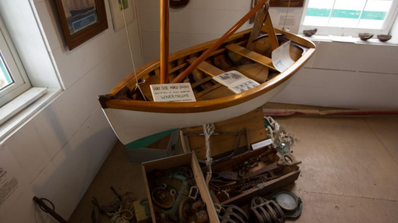 Miniature boat on display inside the Wyannie Malone Historical Museum – Bahamas Ministry of Tourism