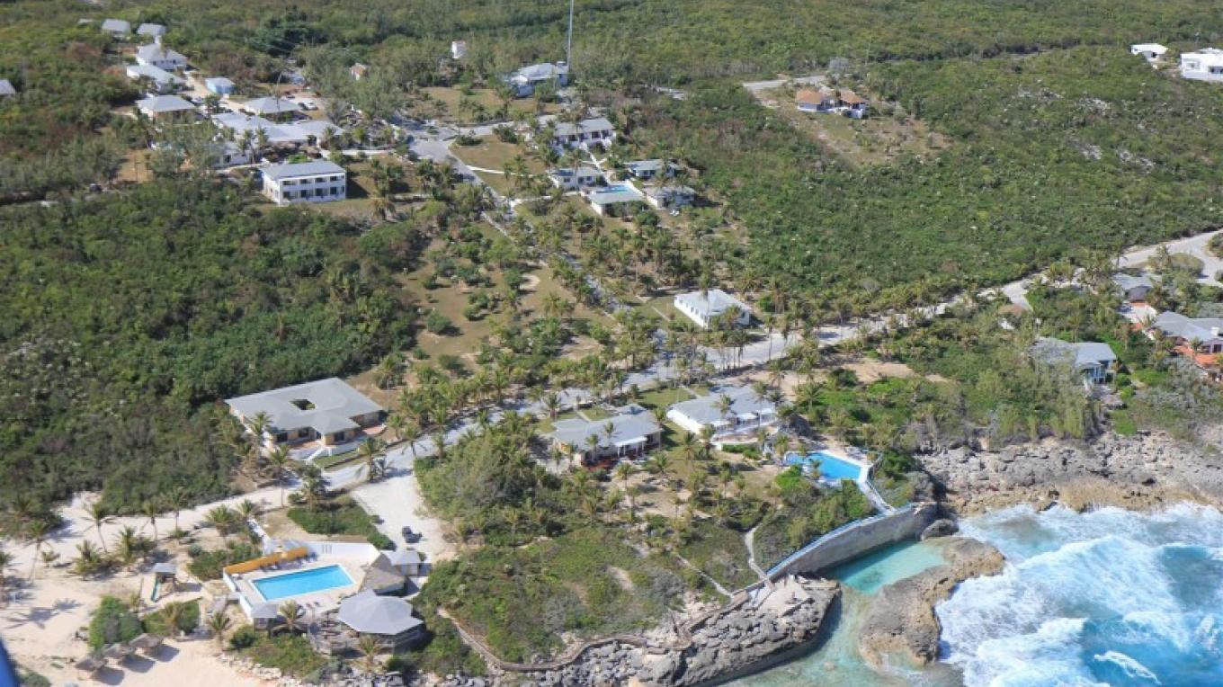 A view from the top. – Stella Maris Resort Club