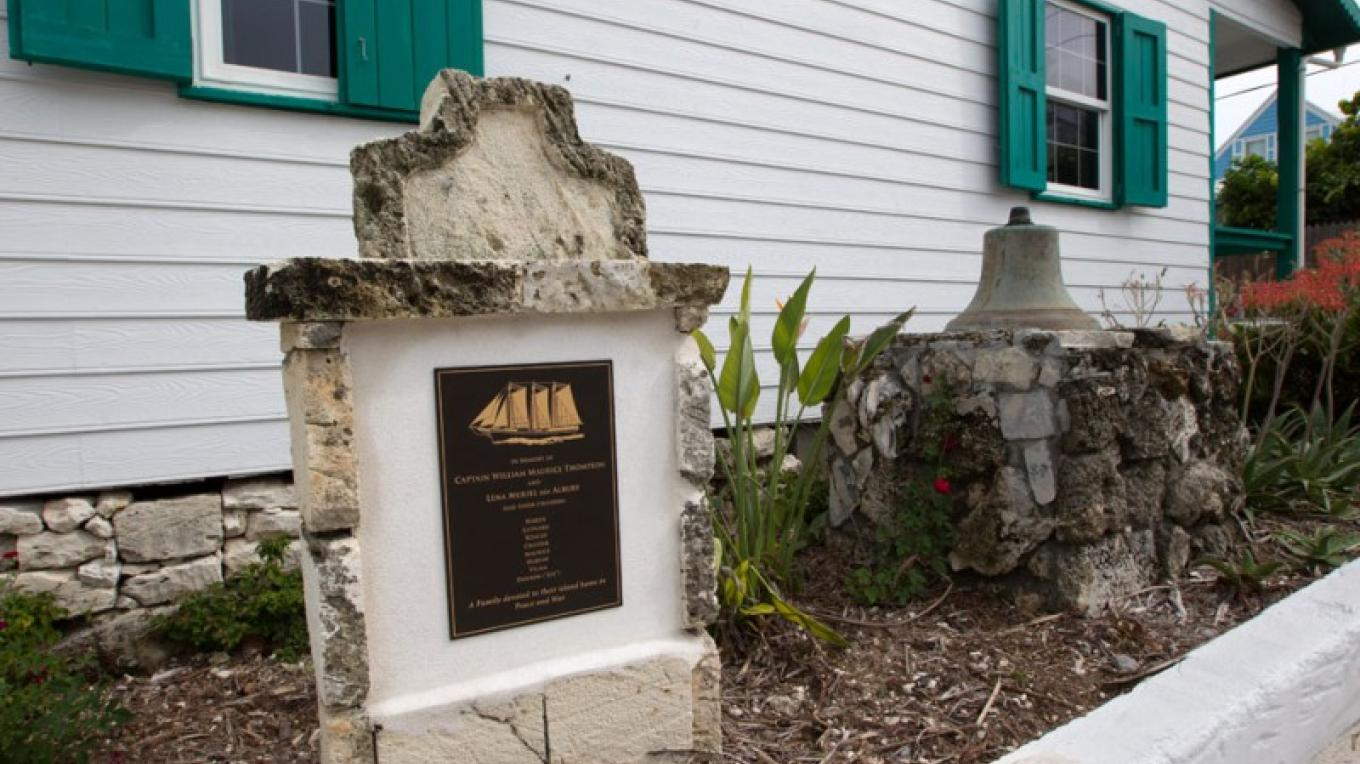 Front of Wyannie Malone Historical Museum – Bahamas Ministry of Tourism