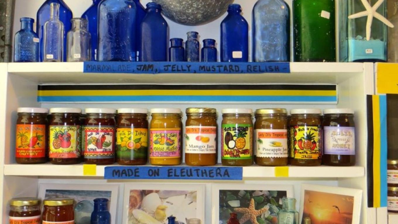 Bahamian made jam, jelly, mustard and relish – Ponderosa Shell & Gift Shop