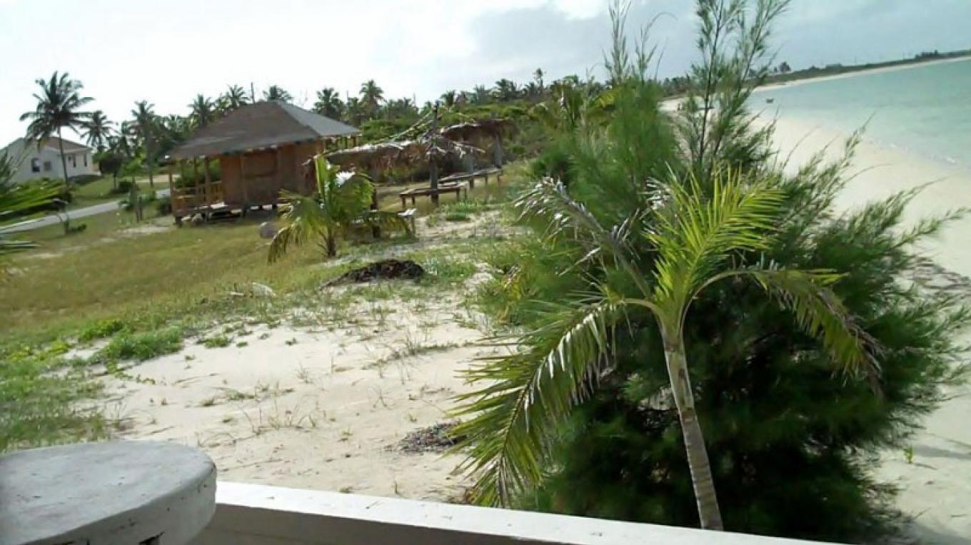 View of The Fish Fry area at Mel's on Da Bay Restaurant, Pirate's Well, Mayaguana, The Bahamas – Bahamas Ministry of Tourism