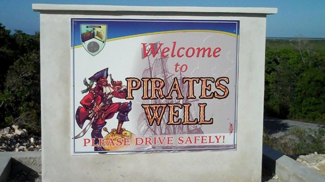 Pirate's Well Sign – Bahamas Ministry of Tourism