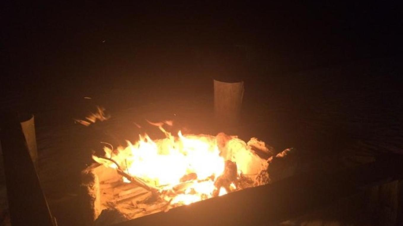 Enjoying a night under the stars while roasting some s'mores – tripadvisor