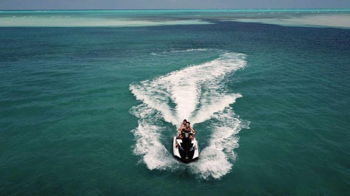Enjoying a jet ski ride – Cuvee
