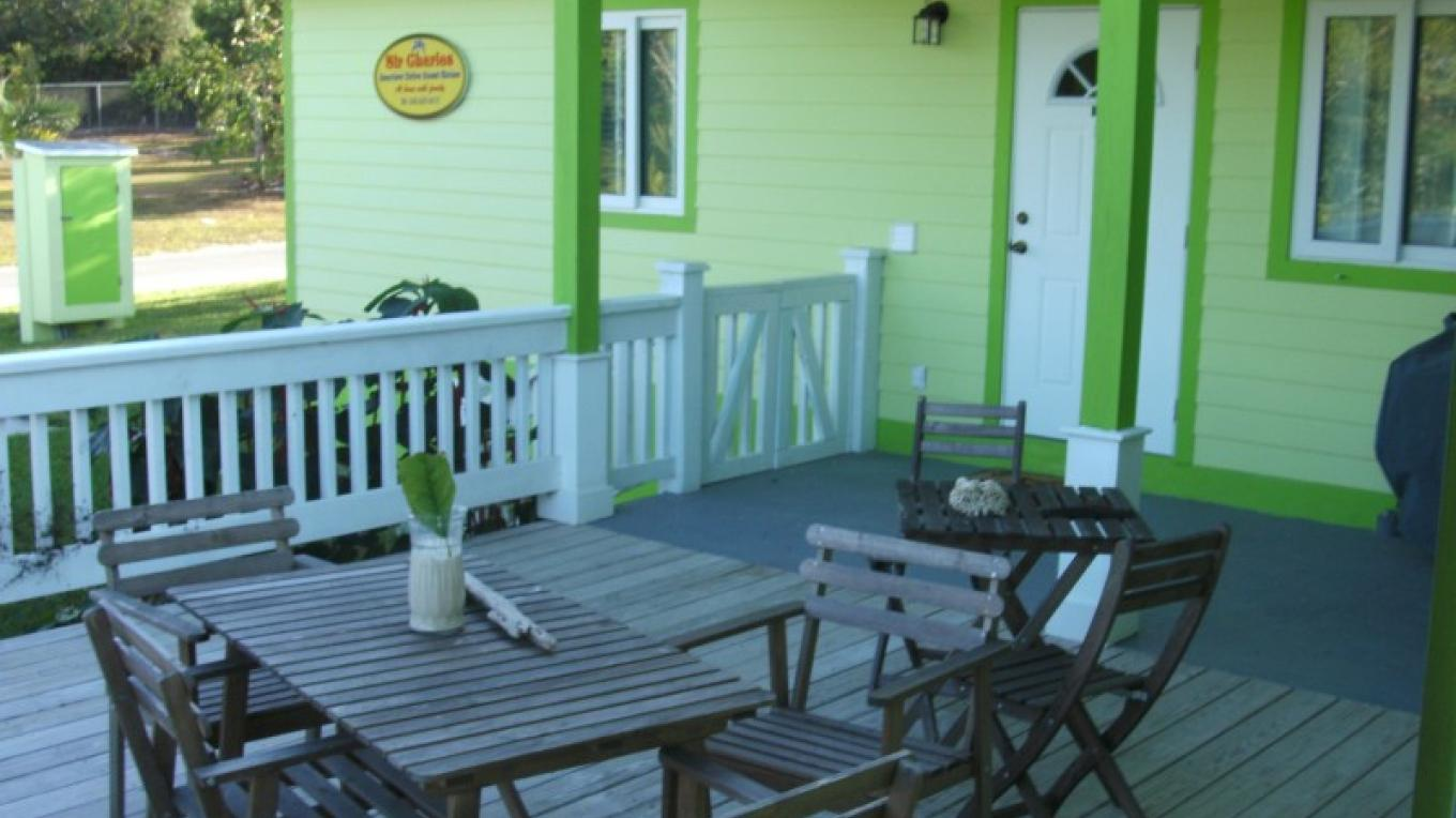 Deck at Sir Charles Guest House – Arlene Clarke