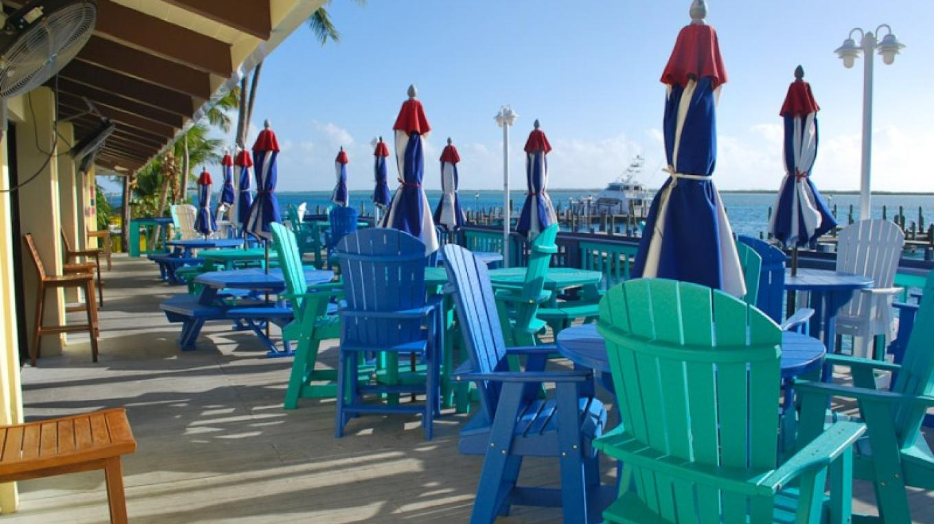 Outside seating area – Bimini Big Game