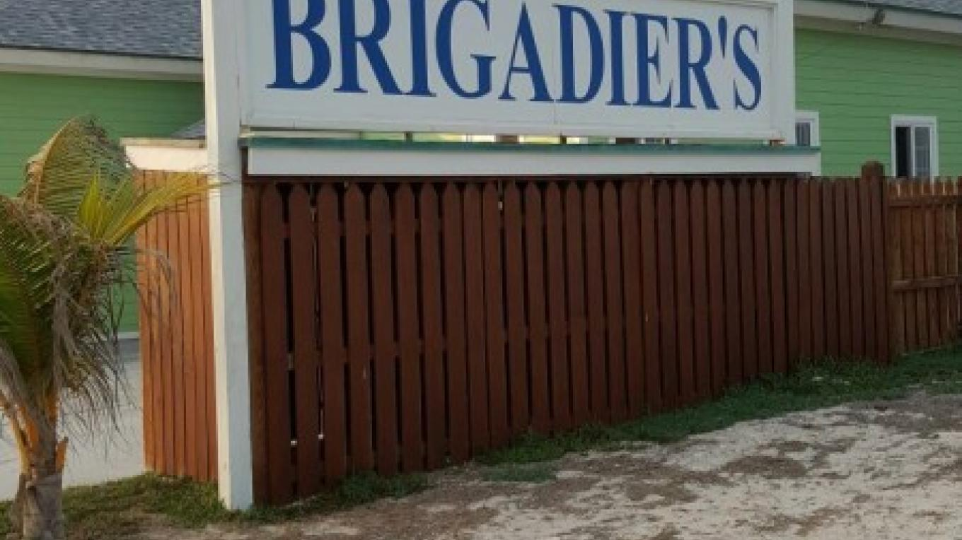 Entrance to Brigadier's Restaurant at Dream Villas, Davis Creek, Andros, The Bahamas – Dream Villas Bahamas