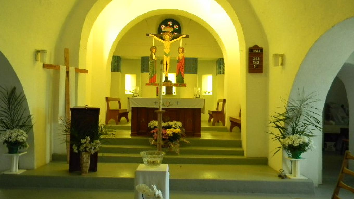 This is the inside of the St. Peter and St. Paul's Catholic Church. – Mrs. Tanya Cartwright