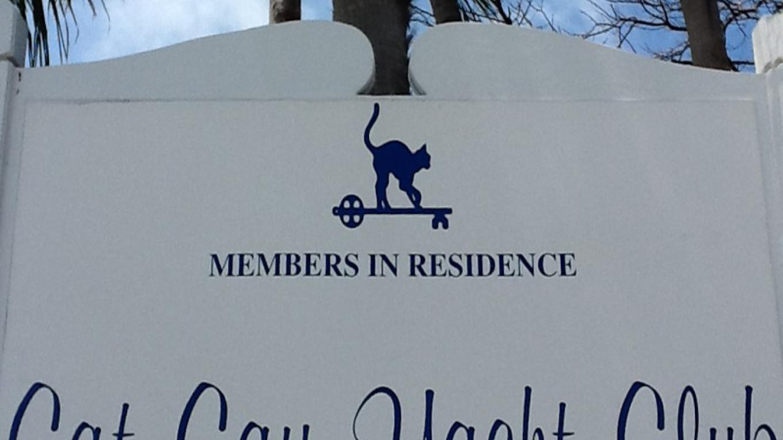Cat Cay sign – Cat Cay Yacht Club