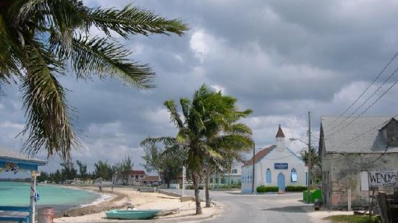 Street in Tarpum Bay – trip advisor