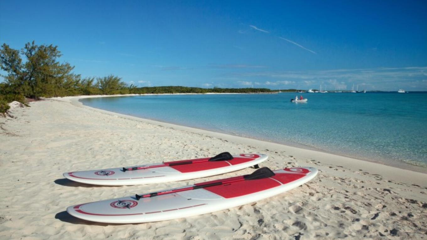 Paddleboards on the beach at Lumina Point Resort & Spa – Lumina Point Resort & Spa